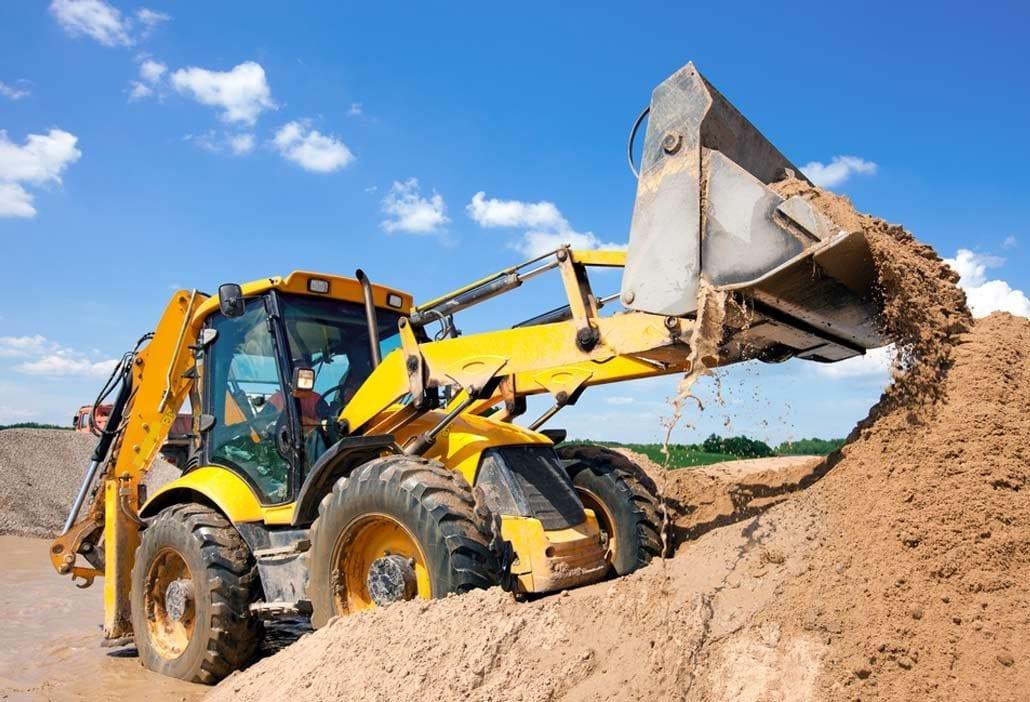 Industrial Photography, Excavator